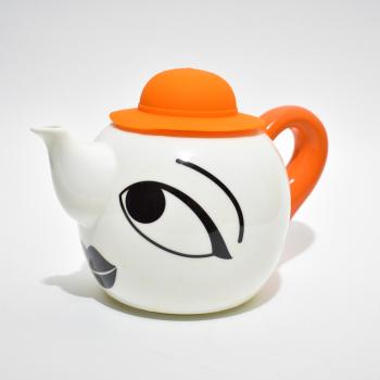 Заварочный чайник, объем 1000 мл. Силиконовая крышка